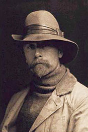 Edward S. Curtis, self portrait, 1889