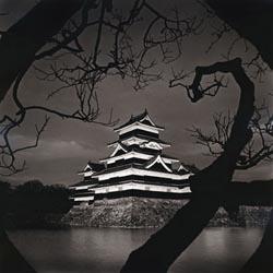 Dusk, Matsumoto Castle, Japan. 2004